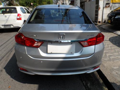 honda city 1.5 lx flex aut. 4p, único dono.