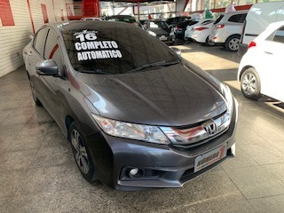 honda  city  2016  1.5 ex flex aut. 4p