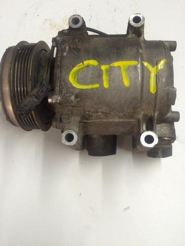 honda city  compressor do ar original