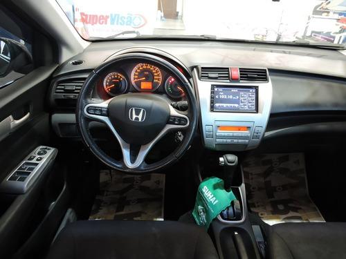 honda city ex 1.5 automático flex completo financia e troca