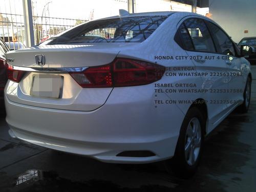 honda city lx 2017 standar 4 cil 1.5 lts sedan eng $ 42,000