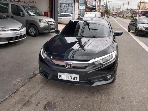 honda civic 1.5 touring turbo aut. 4p 2019 completo ac. auto