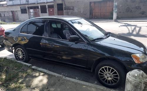 honda civic 1.7 ex automático  2002