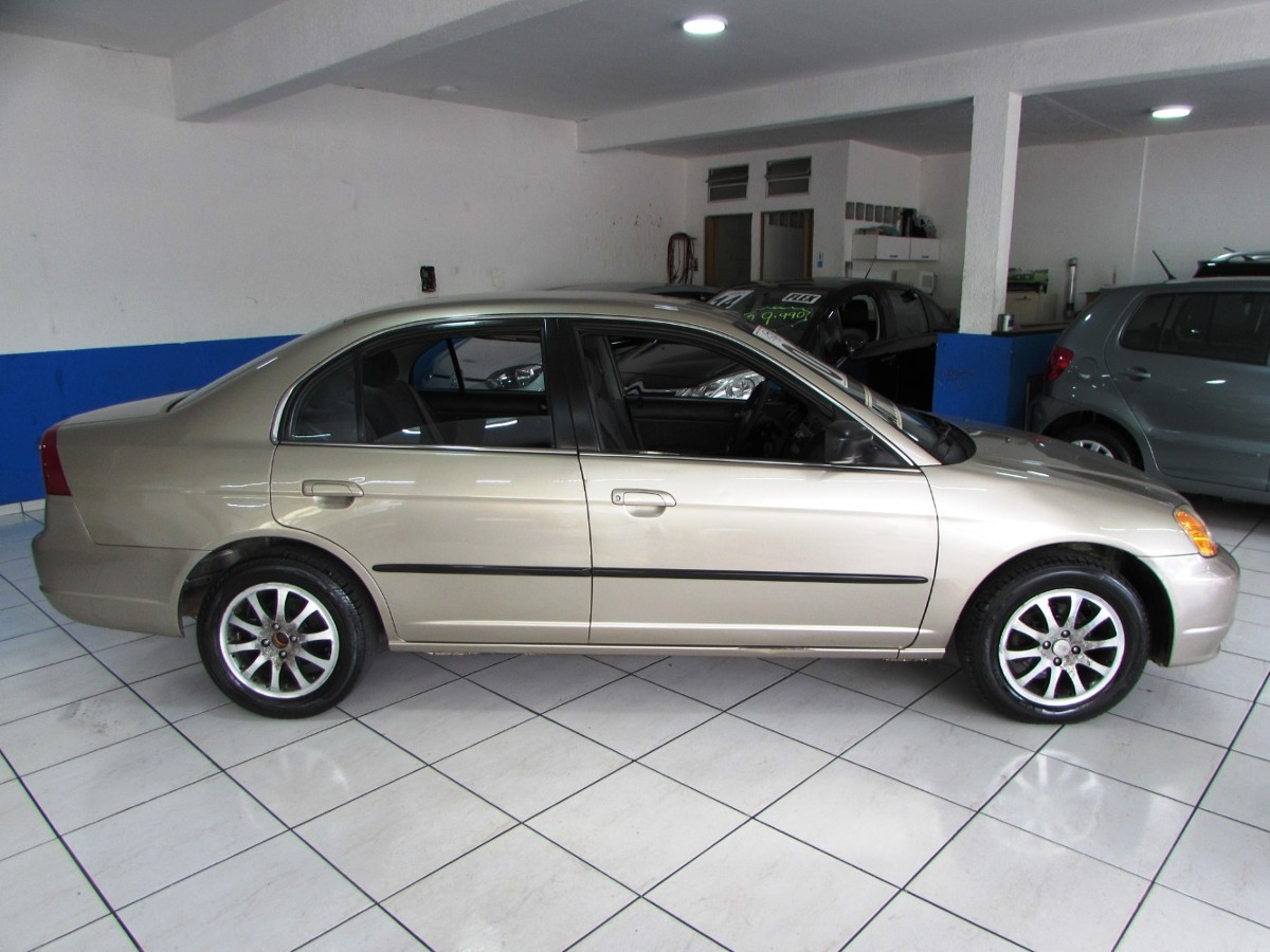 Superb Honda Civic 1.7 Lx 2001 Automatico. Carregando Zoom.