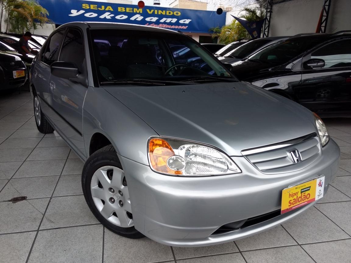 Honda Civic 1.7 Lx Aut. 4p 2001. Carregando Zoom.
