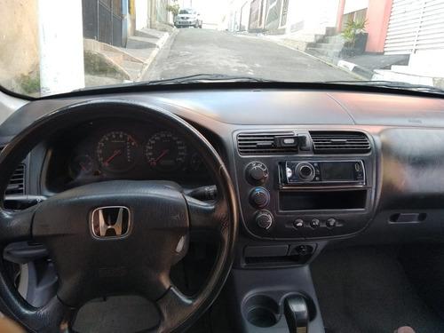 honda civic 1.7 lx aut. 4p 2002