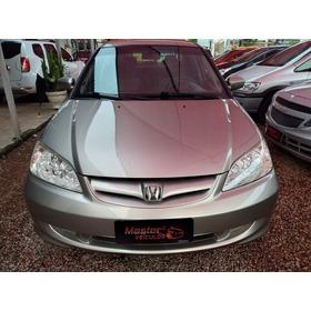 Honda Civic 1.7 Lx Sedan 16v / 2006 / Dourada
