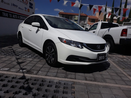 honda civic 1.8 exl navi at 2015