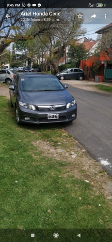 honda civic 1.8 exs at 140cv 2012 vendo o permuto auto moto