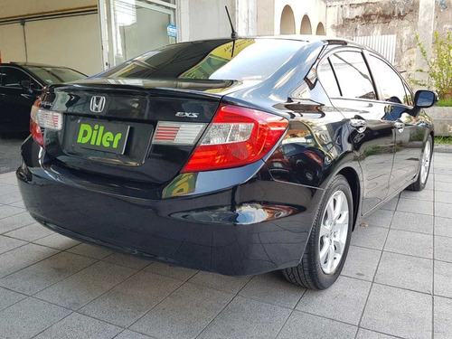 honda civic 1.8 exs at 2013 4 puertas nafta cuero 46655831