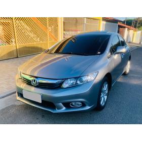 Honda Civic 1.8 Exs Aut. - Teto Solar - 2013 - Km 65.000