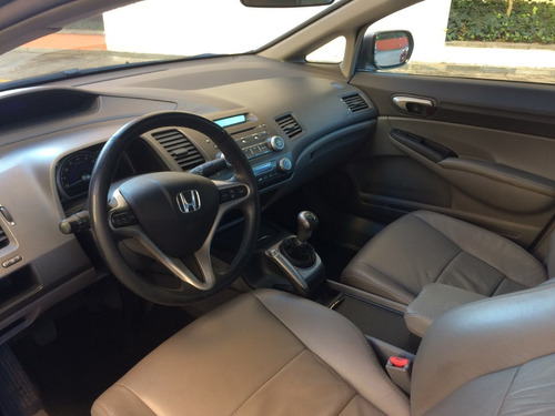 honda civic 1.8 lxl couro flex 4p - ano 2011 completo manual