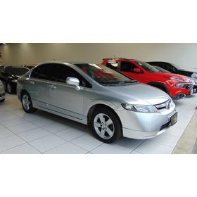 Honda Civic 1.8 Lxs 16v Flex 4p Automático 2008 Blindado