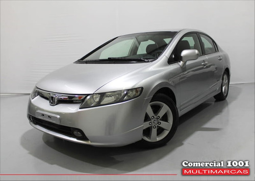 honda civic 1.8 lxs 16v flex 4p manual 2008