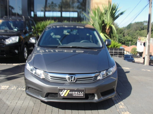 honda civic 1.8 lxs 16v flex 4p manual 2013