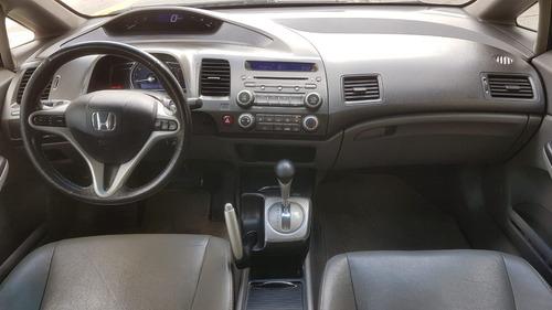 honda civic 1.8 lxs aut. flex 4p 2010 verde completo