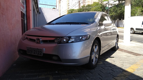 honda civic 1.8 lxs flex aut. 4p 2007