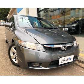 Honda Civic 1.8 Lxs Manual Cinza - 2010