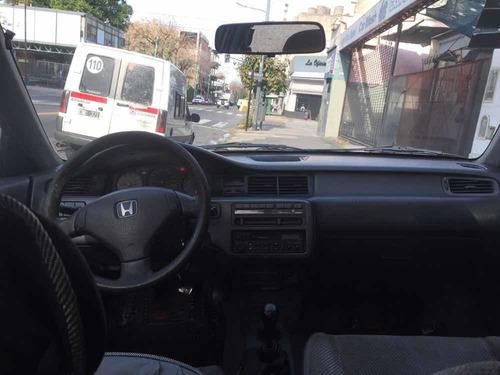 honda civic 1993 ex 1.5l nafta 4 puertas caja manual
