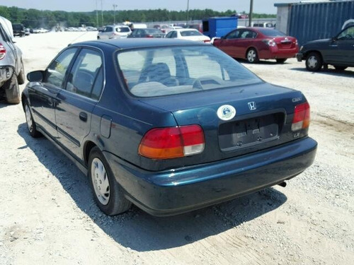 honda civic 1996-2000 retrovisor interior