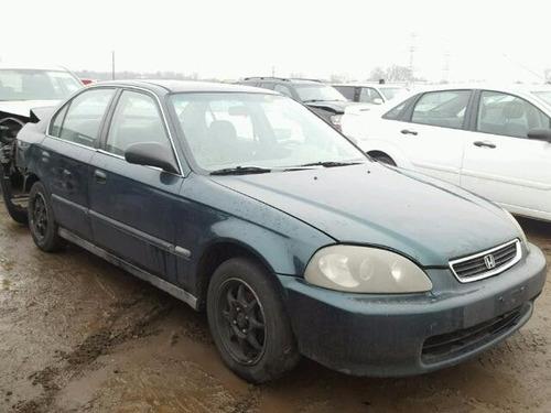 honda civic 1996-2000: volante sin bolsas de aire