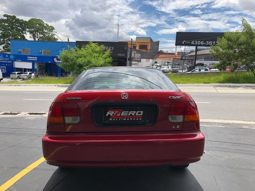 honda civic 1998 lx automático completo