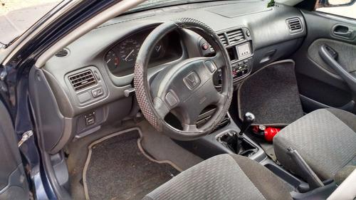 honda civic 1999/ lataria/suspensão/mecânica/acabamento/roda