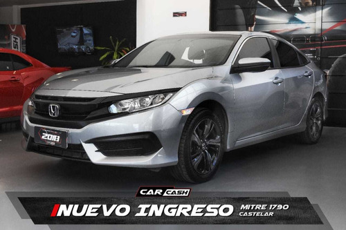 honda civic 2.0 ex 2017 - car cash