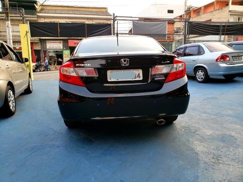 honda civic 2.0 lx automático - 2015 - único dono - baixa km
