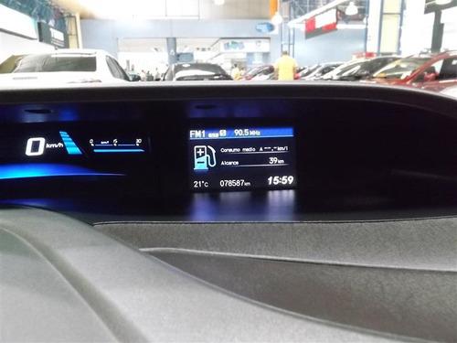 honda civic 2.0 lxr 16v flex 4p automático 2013/2014