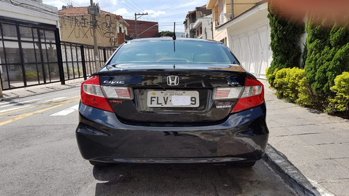 honda civic 2.0 lxr flex aut. 4p 2014 completo