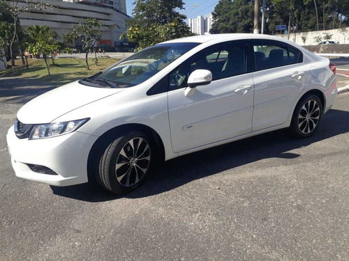 honda civic 2.0 lxr flex aut. 4p 2015