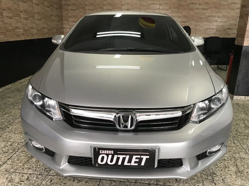 honda civic 2.0 lxr flex aut. 4p