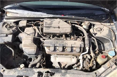 honda civic 2001 para partes autopartes motor 1.7 automatico