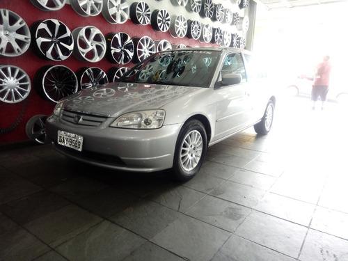 honda civic 2001/2002 1.7 lx automático lindo