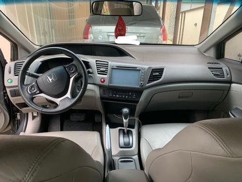 honda civic 2012 1.8 lxl 16v flex automático 4p