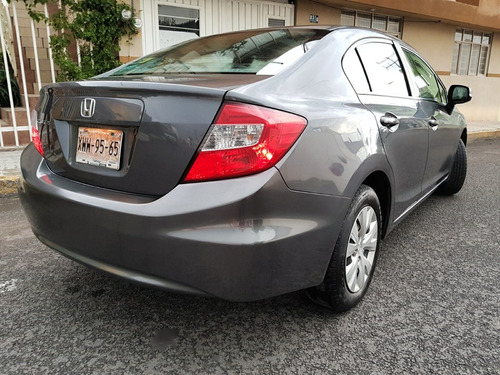 honda civic 2012 ex unico dueño posible cambio remato