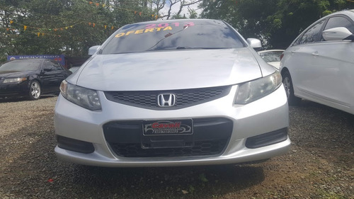 honda civic coupé gris 2013