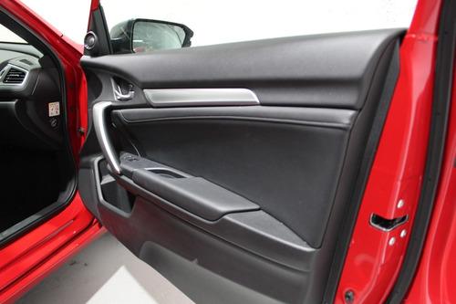 honda civic coupe turbo cvt 2019 rojo