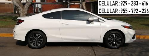 honda civic coupe / version ex - top de gama