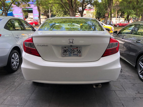honda civic dmt exl sedan at 2012 pantalla piel quemacocos