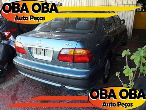 honda civic ex 1.6 1999/2000-sucata p/ retira peças