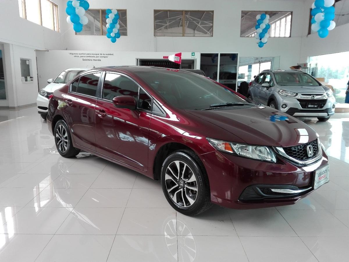 Honda Civic Exl >> Honda Civic Exl Rojo Intenso Modelo 2014 - $ 53.000.000 en ...