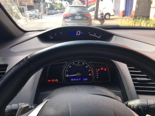 honda civic exs automatico 62.000 km. cuero  2008