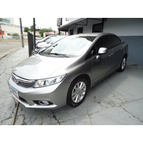 Honda Civic Lsx 1.8 Eco Flex 140cv 4p Ano 2012 Cinza