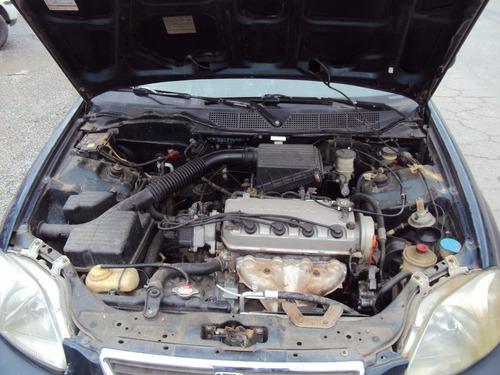 honda civic lx 98 sucata motor cambio porta capo suspensão