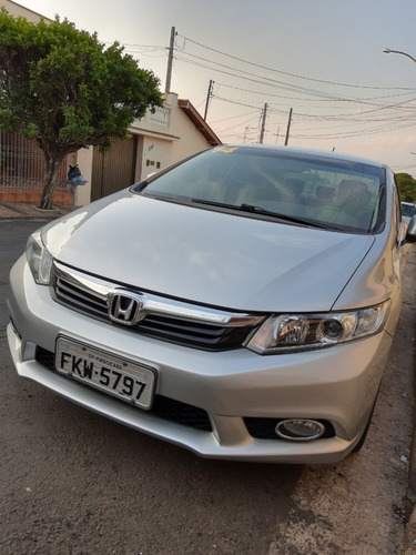 honda civic lxr 2.0 2014 flexone prata