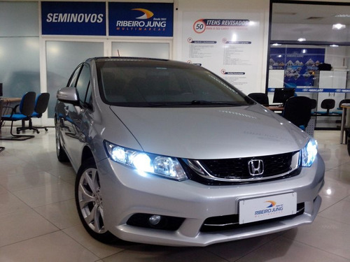 honda civic lxr 2016 prata flex