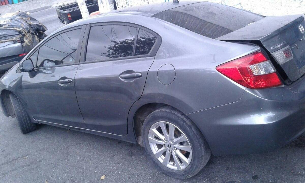 Honda Civic Lxs 1.8 2013 Sucata Para Retirada De Pecas. Carregando Zoom.