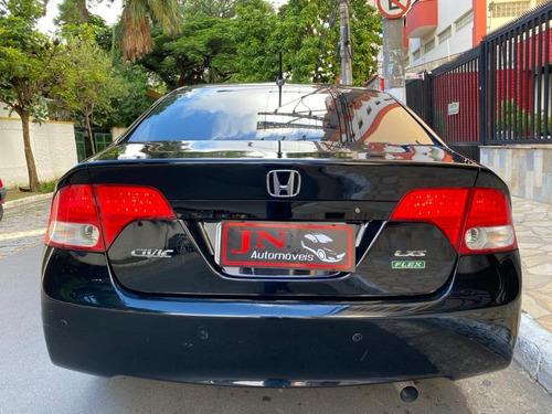 honda / civic lxs 1.8 aut. - 2007/2008